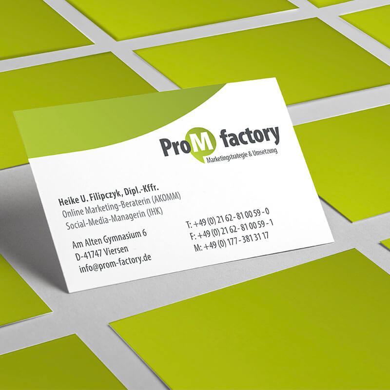 ProM factory_Vcard