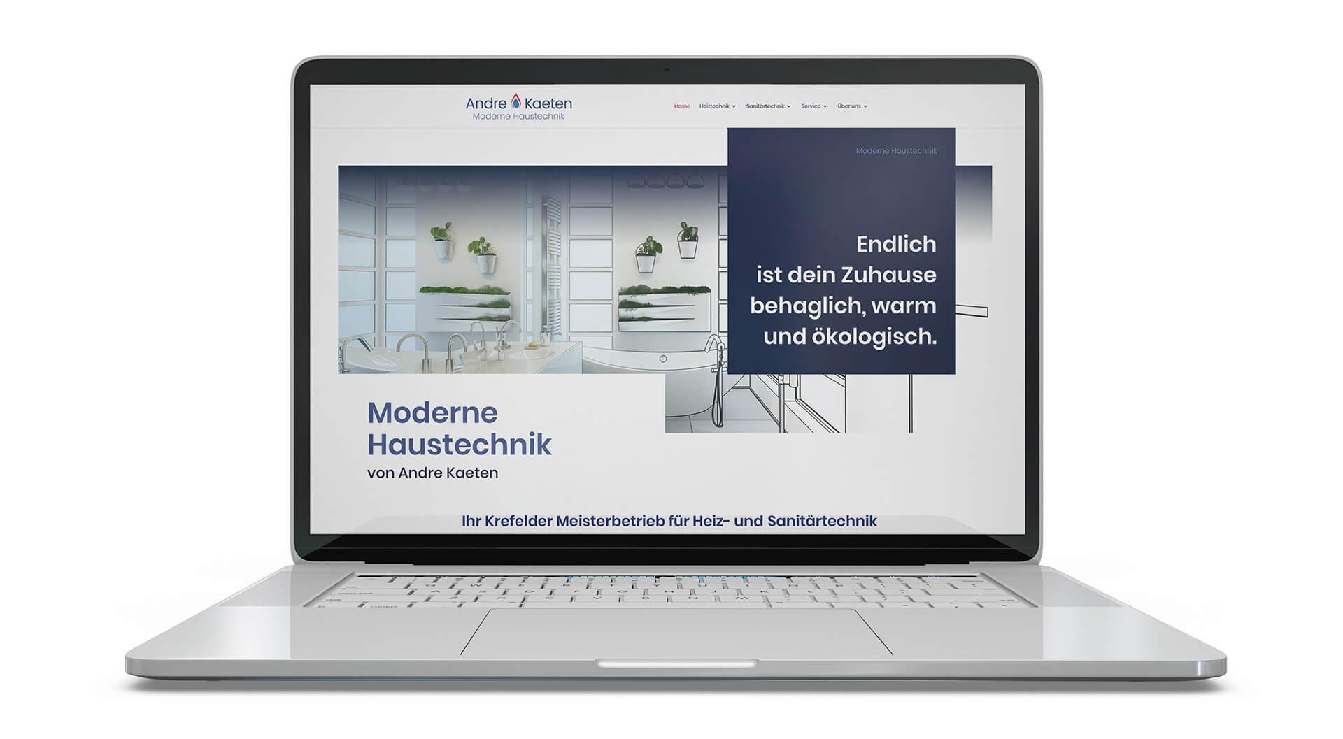 Kaeten Haustechnik Webansicht